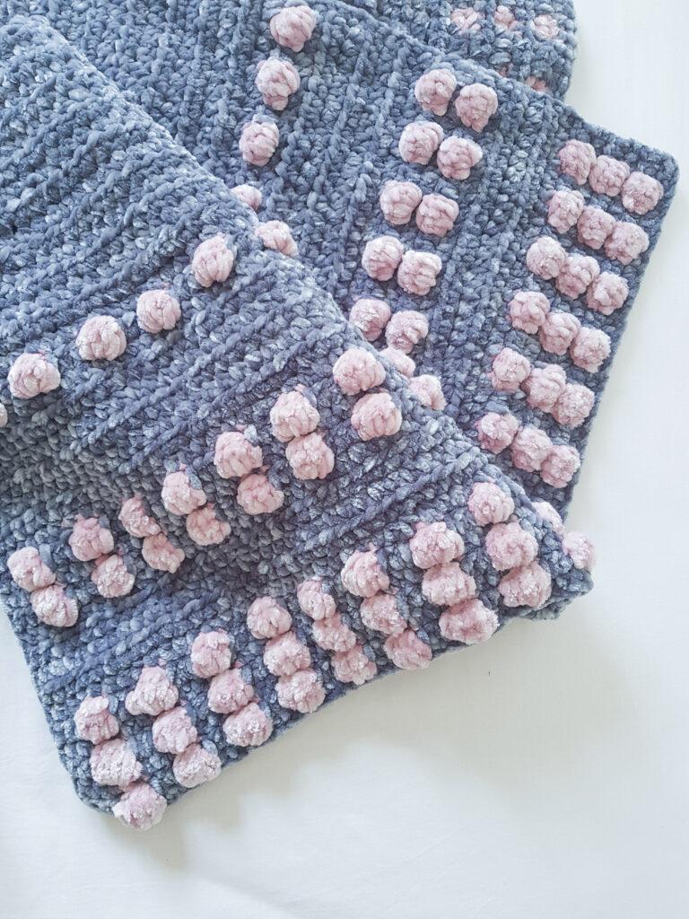Northern Blossom Baby Blanket