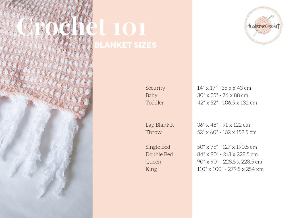 Crochet 101:Blankets