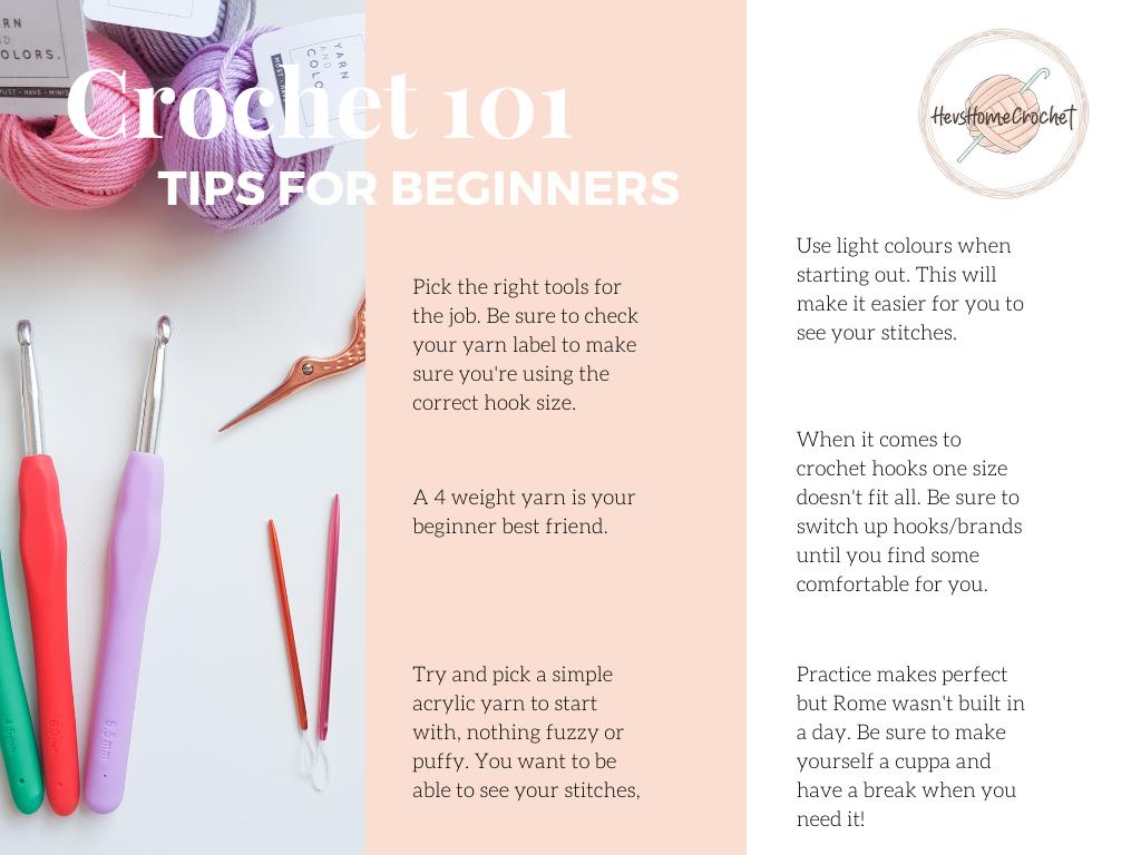Crochet 101: Tips For Beginners